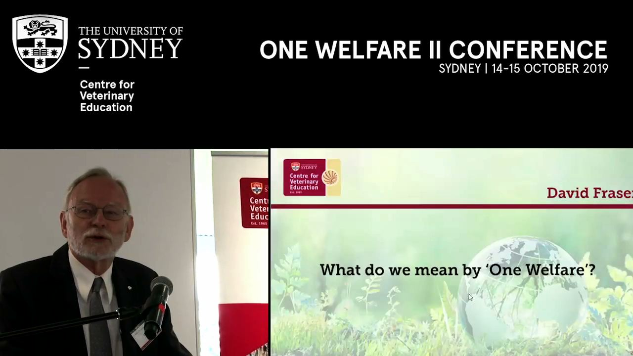 What do we mean by 'One Welfare'?