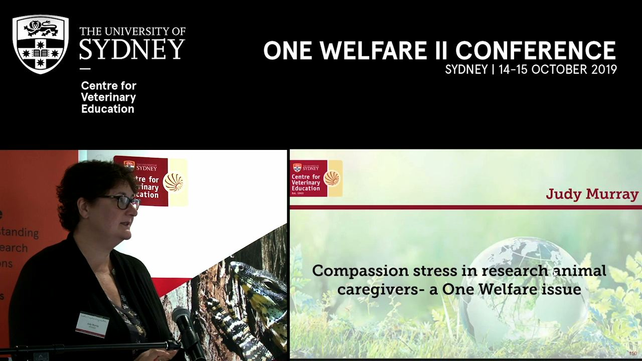 Compassion stress in research animal caregivers – a One Welfare issue