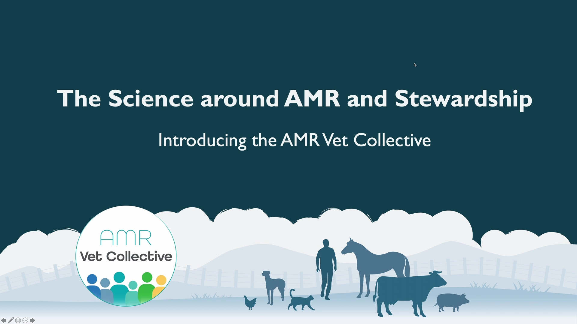 The Science Around AMR and Stewardship WebinarLIVE!